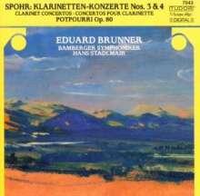 Louis Spohr (1784-1859): Klarinettenkonzerte Nr.3 & 4, CD