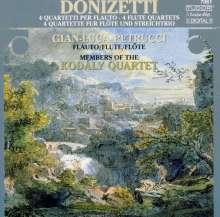 Gaetano Donizetti (1797-1848): 4 Flötenquartette, CD