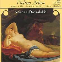 Ariadne Daskalakis - Violino Arioso, CD