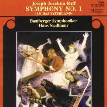 "Joachim Raff (1822-1882): Symphonie Nr.1 ""An das Vaterland"", CD"