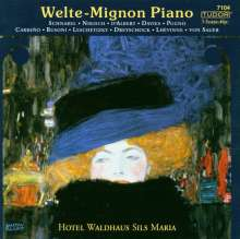 Welte-Mignon Piano Hotel Waldhaus Sils Maria Vol.1, CD
