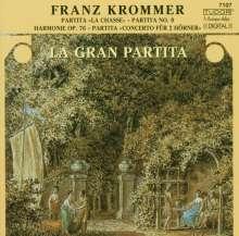 Franz Krommer (1759-1831): Konzert für 2 Hörner, CD