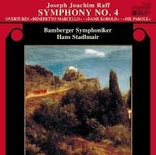 Joachim Raff (1822-1882): Symphonie Nr.4, CD