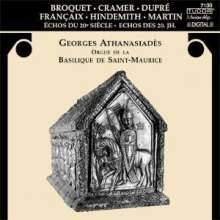 Georges Athanasiades - Echos des 20.Jh., CD
