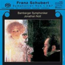 Franz Schubert (1797-1828): Symphonien Nr.1,3,7, Super Audio CD