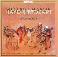 Wolfgang Amadeus Mozart (1756-1791): Streichquartette Nr.10 & 19, CD