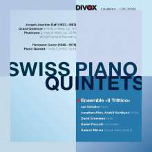 Swiss Piano Quintets, CD