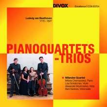 Ludwig van Beethoven (1770-1827): Klavierquartette WoO 36 Nr.1-3, CD