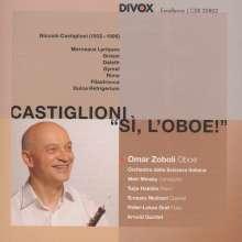 """Niccolo Castiglioni (1932-1996): Kammermusik für Oboe """"Si, L'Oboe"""", CD"""
