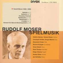 Rudolf Moser (1892-1960): Spielmusik, CD