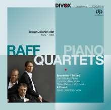 Joachim Raff (1822-1882): Klavierquartette op.202 Nr.1 & 2, Super Audio CD