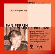 Jean Perrin (1920-1989): Klavierkonzert op.41, Super Audio CD