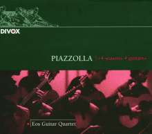 Astor Piazzolla (1921-1992): The 4 Seasons für Gitarrenquartett, CD