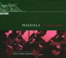 Astor Piazzolla (1921-1992): The 4 Seasons für Gitarrenquartett, CD