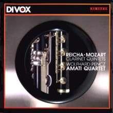 Anton Reicha (1770-1836): Klarinettenquintett op.89, CD