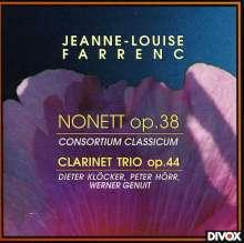 Louise Farrenc (1804-1875): Klarinettentrio op.44, CD
