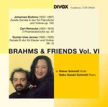 Johannes Brahms (1833-1897): Sonate für Violine & Klavier Nr.2 op.100, CD