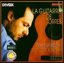 Stefano Grondona - La Guitarra de Torres, CD