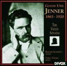 Gustav Jenner (1865-1920): Violinsonaten Nr.1-3, CD