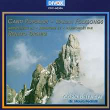 Renato Dionisi (1910-2000): Canti Populari, CD