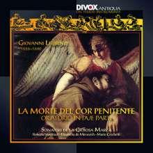 Giovanni Legrenzi (1626-1690): Le Morte del cor penitente, CD