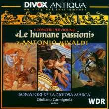 Antonio Vivaldi (1678-1741): Violinkonzerte RV 180,199,234,271,277, CD