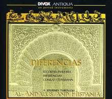 Ensemble Diferencias - Al-Andalus & Hispania, CD