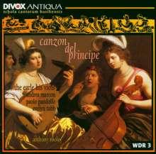 Canzon del Principe - Luigi Rossi, CD