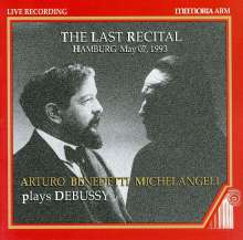 A.Benedetti Michelangeli - The Last Recital, 2 CDs
