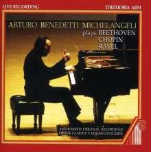 Arturo Benedetti Michelangeli - Vatican Concert, CD