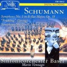 Robert Schumann (1810-1856): Symphonien Nr.1 & 2, CD
