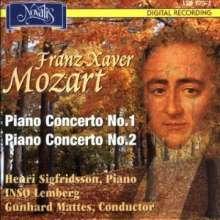 Franz Xaver Mozart (1791-1844): Klavierkonzerte Nr.1 & 2 (opp.14 & 25), CD