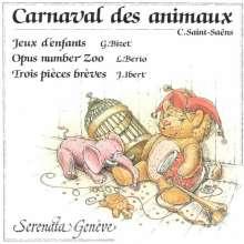 Camille Saint-Saens (1835-1921): Karneval der Tiere (Kammermusik-Version), CD