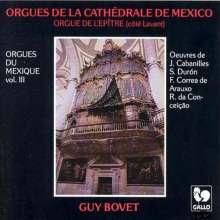Guy Bovet - Orgues de la Cathedrale de Mexico, CD