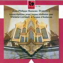 Jean Philippe Rameau (1683-1764): Dardanus-Suite (arr.f.Orgel), CD