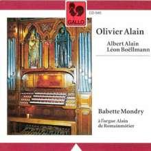 Olivier Alain (1918-1994): Orgelwerke, CD