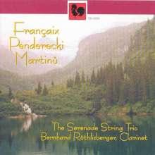 Jean Francaix (1912-1997): Klarinettenquintett, CD
