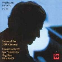 Jürg Baur (1918-2010): Heptameron für Klavier, CD