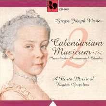 Gregor Joseph Werner (1695-1766): Musikalischer Kalender Vol.2, CD