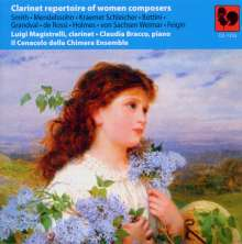 Luigi Magistrelli - Clarinet repertoire of women composers, CD