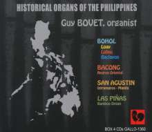 Historical Organs of the Philippines, 4 CDs