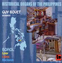 Historical Organs of the Philippines, CD