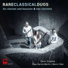 Dario Zingales - Rare Classical Duos for Clarinet&Basson and two Clarinets, CD
