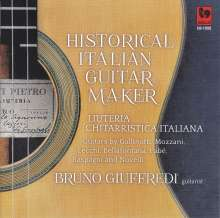 Bruno Giuffredi - Historical Italian Guitar Maker, CD