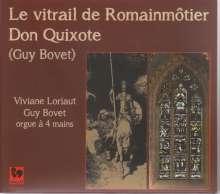 Guy Bovet (geb. 1942): Don Quixote für Orgel 4-händig, CD