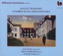 August Reinhard (1831-1912): Kammermusik & Sonatinen, 2 CDs
