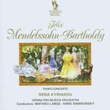 Felix Mendelssohn Bartholdy (1809-1847): Konzert für Klavier & Streicher a-moll, CD