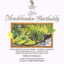 Felix Mendelssohn Bartholdy (1809-1847): Klavierkonzert Nr.2, CD