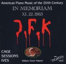 William Grant Nabore - Amerikanische Klaviermusik des 20.Jh., CD