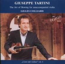 Giuseppe Tartini (1692-1770): Corelli-Variationen für Violine solo, CD